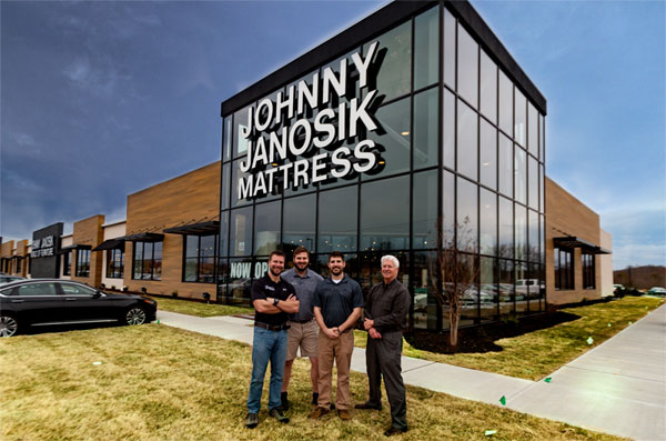 Johnny Janosik Grand Opening